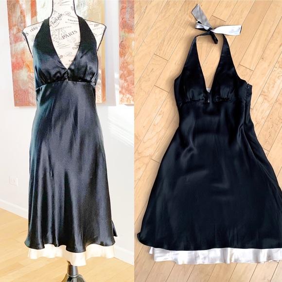 White House Black Market Dresses & Skirts - White House Black Market Silk Slip Dress